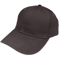 Grace / Dynamic 6 Panel Structured cap DARK CHARCOAL