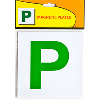 Plate Magnetic Green P - Code 321 QLD ACT NT SA TAS
