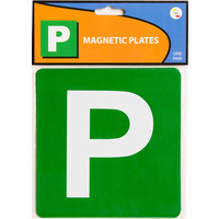Plate Magnetic Green P - Code 331 VIC WA