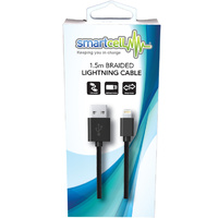 1.5m Braided Lightning Cable - Smartcell